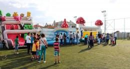 Pınarhisar'da Çocuklar İçin Eğlence Bitmiyor