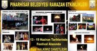 Ramazan Pınarhisar'da Dolu Dolu Yaşanacak