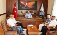 Murat Aşım'ı Ziyaret Ettiler