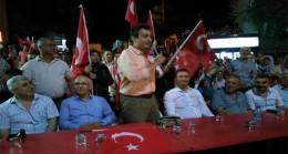 Vizeliler Demokrasi için Yürüdüler