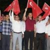 Minsolmaz Demirköy'de Demokrasi Nöbetinde