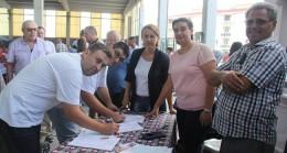 Pınarhisar'da Manifesto için imza Kampanyası Düzenlendi