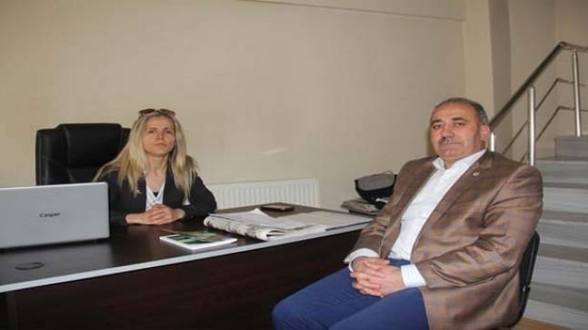 Başkan Muhlis Yavuz Pınarhisar Gazetesini ziyaret etti