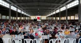 Pınarhisar'da 4 bin kişi iftar sofrasında buluştu