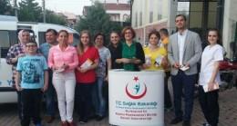 Pınarhisar Devlet Hastanesinden broşürlü bilgilendirme