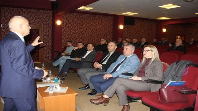 Pınarhisar'da Tarsim Bilgilendirme Toplantısı yapıldı