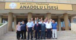 Pınarhisar'da Kurum Yöneticileri ile toplantı yapıldı