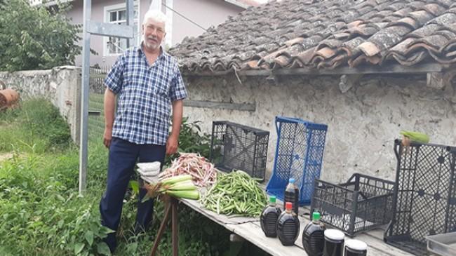 Yerli ürünler Poyralılının tezgahında