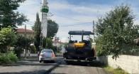 Sıcak asfalt çalışması İslambey- Yeniceköy arası