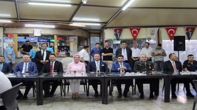 Pınarhisar'da geleneksel bayramlaşma