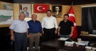 Bürge'den Başkan Talay'a hayırlı olsun ziyareti