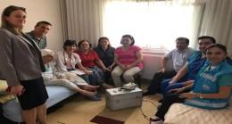 Pınarhisar'daki Evde Sağlık Hizmetleri hastalarına ziyaret
