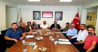 Karasu İlçe Başkanları İstişare Toplantısına katıldı