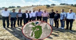 Pınarhisar Yenice Göleti'ni yerinde incelediler