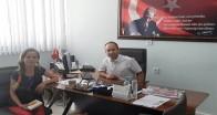 Pınarhisar İlçe Tarım ve Orman Müdürü Tınmaz'a ziyaret