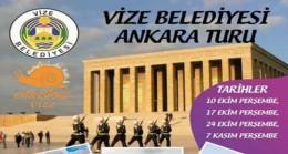 Vizeliler Ankara'ya çıkartma yapacak