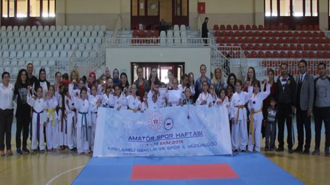 Pınarhisar'da Amatör Spor Haftası dolu dolu geçti