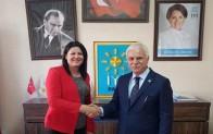 Demirköy İYİ Parti'de kadın ilçe başkanı