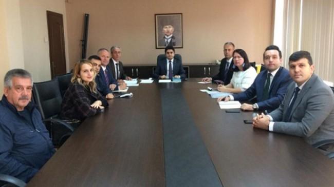 Pınarhisar'da görev bölümü yapıldı
