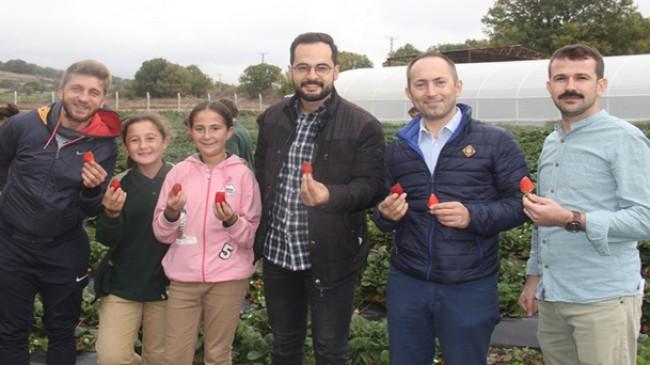 Pınarhisar'da tarım konulu okul gezisi