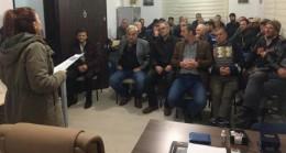 Pınarhisar'da gece eğitimleri