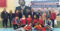 Pınarhisar'da Futsal ve Görme Engelliler Golbol gösterisi