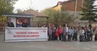 Pınarhisar Mehmet Akif Ersoy İlkokulunda stant