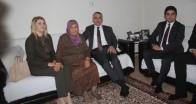 Vali Bilgin'den şehit Aydın Seyran'ın ailesine ziyaret