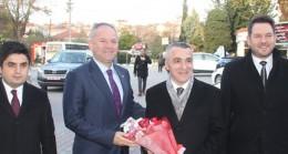 Kaynarca Belediye Başkanı Türker'i ziyaret etti