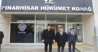 Pınarhisar Vali Bilgin'i ağırladı