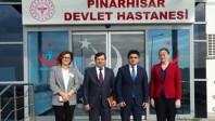 Pınarhisar Devlet Hastanesi'ni ziyaret etti