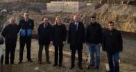 Kaynarca'daki Arıtma Tesisi İnşaatı kontrol edildi