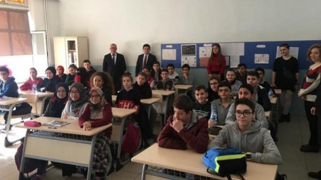 Kaymakamdan Pınarhisar İmam Hatip Ortaokulu'na ziyaret