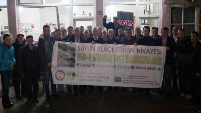 """""""Ab-ı Hayat: Istrancalar""""  belgeseli Yenice Köyü'nde"""
