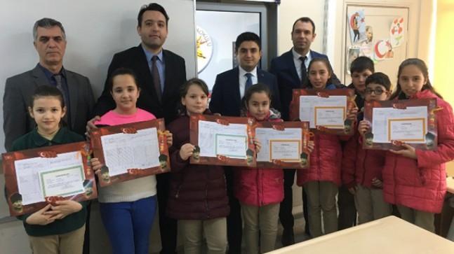 Pınarhisar'da karne heyecanı