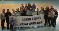 Pınarhisar'da Serviks Kanserine dikkat çekildi