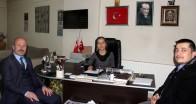 Müftü Uluçınar'dan Gazetemize ziyaret