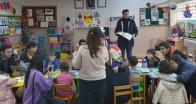 Minik öğrencileri kitap ile buluşturdular