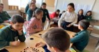 Cevizköy Ortaokulu'nda zeka oyunları yarışması