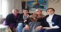 Hastalara evlerinde ziyaret