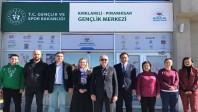 Pınarhisar Gençlik Merkezi'ni ziyaret ettiler