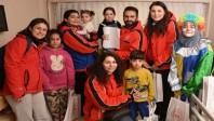 Pınarhisar'ın kırmızı yeleklileri Elazığ'da