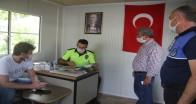 Pınarhisar'daki taksi durakları denetlendi