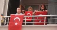 Pınarhisar'da saat 19.19'da İstiklal Marşı