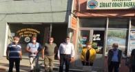 Pınarhisarlı üreticilere geçmiş olsun ziyareti