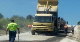 Pınarhisar'da köy yolları asfaltlanıyor