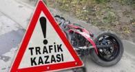Yenice Köyü'nde motosiklet kazası