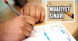 Yabancı Dil Muafiyet Sınavı 13 Ekim'de