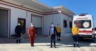 Yeni taşınılan Bademlik 4 nolu 112 ASHİ'ye ziyaret
