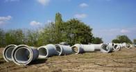 Dev kanalizasyon hattı 2 haftada tamamlandı